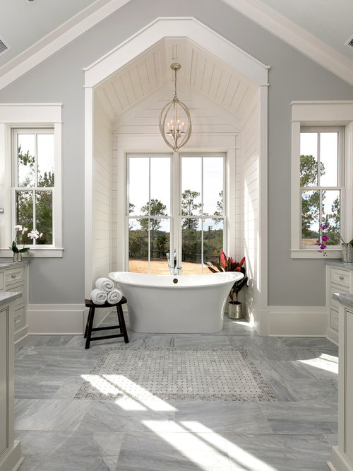 Beach Style Charleston Bathroom Design Ideas Remodels Photos