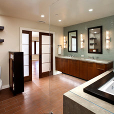 Contemporary Bathroom by J.P. Lindstrom Inc.