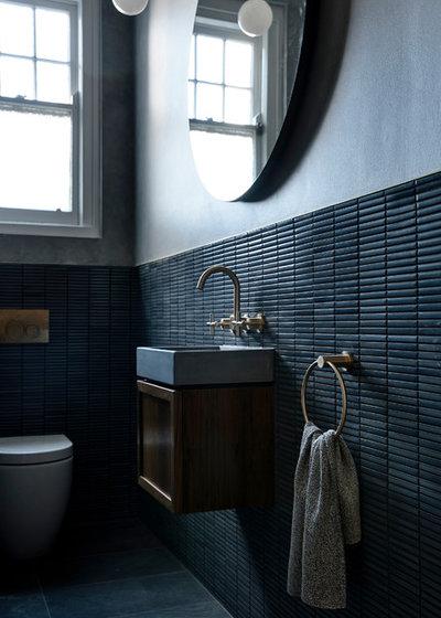 Midcentury Bathroom by Luke Fry Architecture & Interior Design