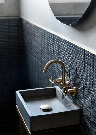Contemporary Bathroom by Luke Fry Architecture & Interior Design