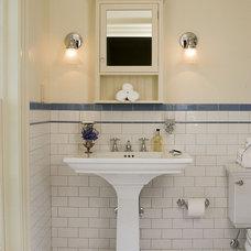 Traditional Bathroom by Christine G. H. Franck, Inc.