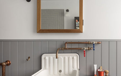 Homespun Good Looks With Copper Piping Taps