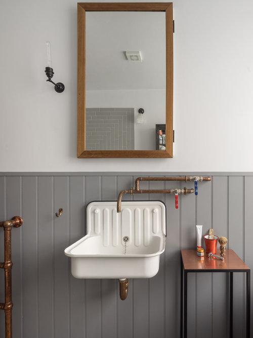 4 000 industrial bathroom design ideas remodel pictures for Bathrooms b q installation