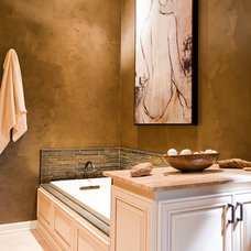 Contemporary Bathroom by Case Design & Remodeling Indy