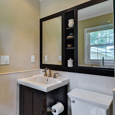 Eclectic Bathroom by Construction Ahead