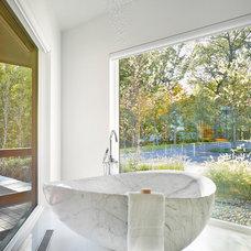 Contemporary Bathroom by Birdseye Design