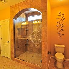 Mediterranean Bathroom by Renovations By Brenton