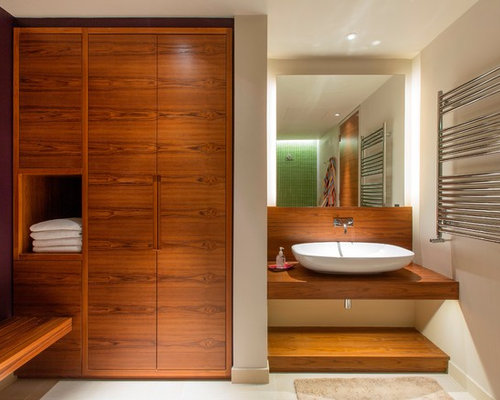 Teak Bathroom Ideas, Pictures, Remodel and Decor