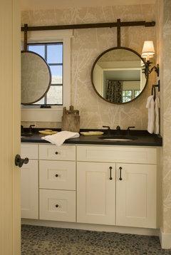 Mirror Off Center From Sink Help
