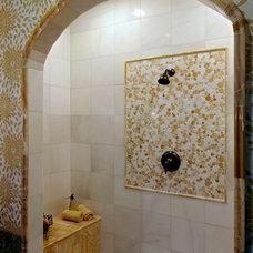 Tropical Bathroom by Mosaic Tile Company