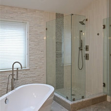 Contemporary Bathroom by Envision Custom Builders, Inc.