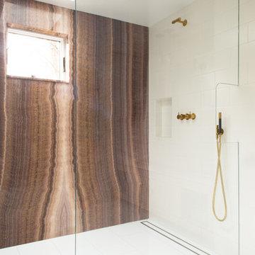 "Chappaqua ""Serene and Modern"" Master Bathroom"