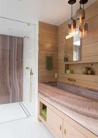 Contemporary Bathroom by Strianese + Pew