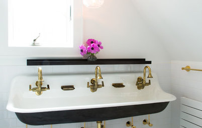 11 Times a Bathroom Basin With an Exposed Bottle Trap Looked Ace