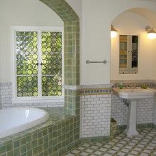 Traditional Bathroom by Pam Rigney Design