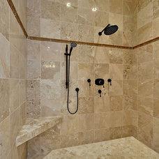 Traditional Bathroom by creative designs llc