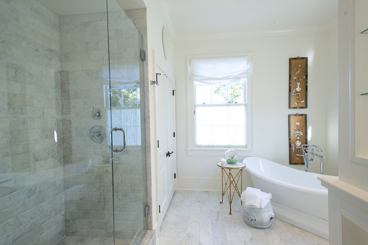Traditional Bathroom by Dann Inc.