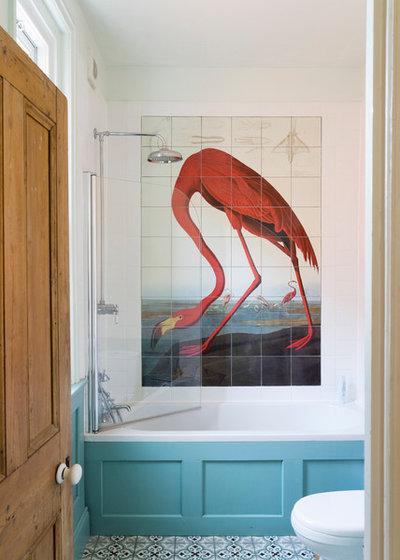 Coastal Bathroom by Farrow & Ball