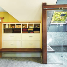 Modern Bathroom by Studio III architects