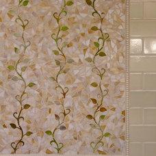 Eclectic Bathroom by Charmean Neithart Interiors, LLC.