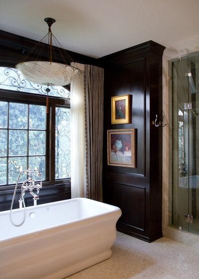 Traditional Bathroom by Charmean Neithart Interiors
