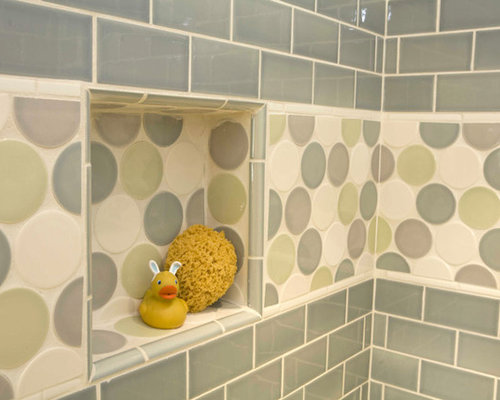 Luxury  Tile And Wooden Flooring Representing The Area Of Kids Bathroom And