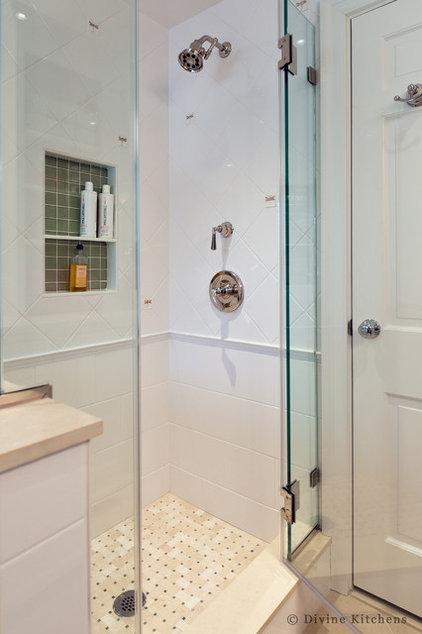 Traditional Bathroom by Divine Design+Build