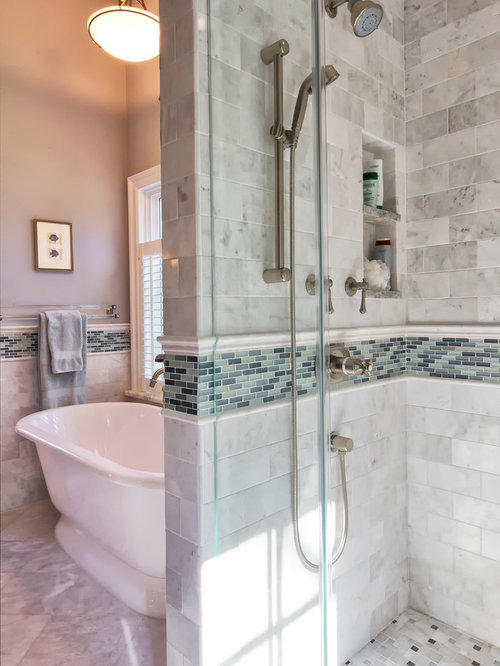 tile wall in bathroom charming cape cod renovation 20900