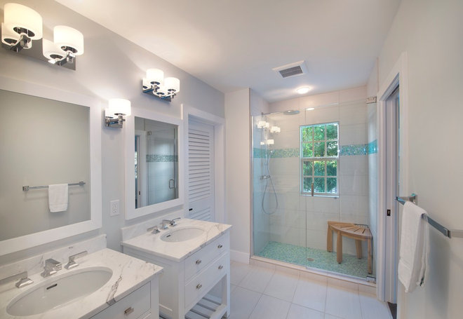 Traditional Bathroom by The Lykos Group, Inc.