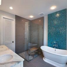 Contemporary Bathroom by The Lykos Group, Inc.