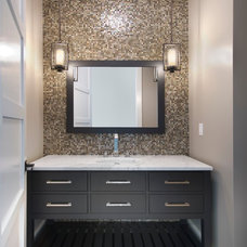 contemporary bathroom by The Lykos Group, Inc.