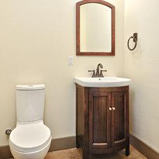 Craftsman Bathroom by Schmidt Custom Homes