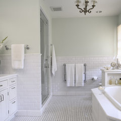 traditional bathroom by Lucy Interior Design