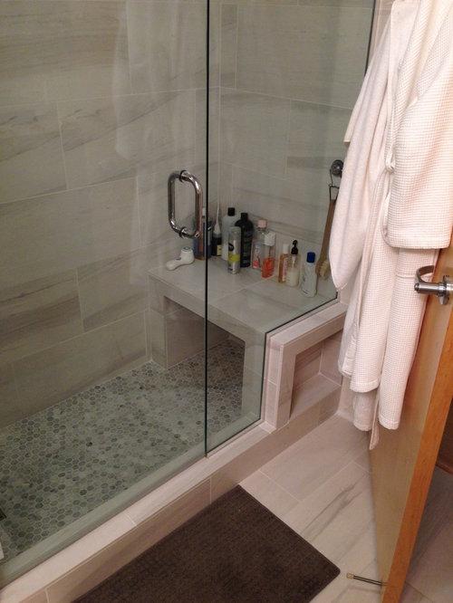 Portland bathroom design ideas renovations photos with stone slabs for Bathroom designers portland oregon