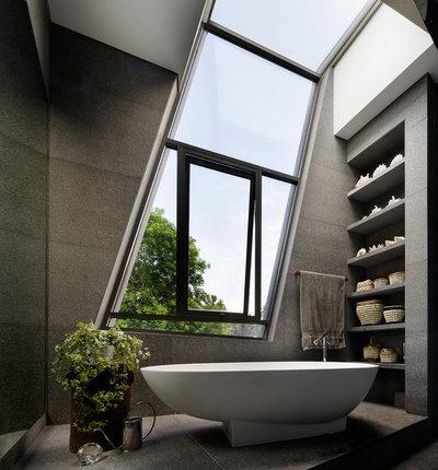 8 meravigliose stanze da bagno dove la vasca protagonista - Sognare vasca da bagno ...