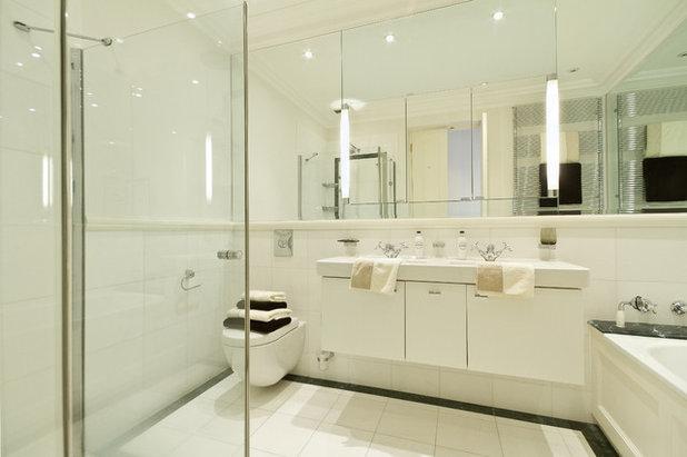 10 astuces pour optimiser les volumes d 39 une petite salle for Astuce moisissure salle de bain