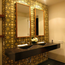 Eclectic Bathroom by 8.8 Design