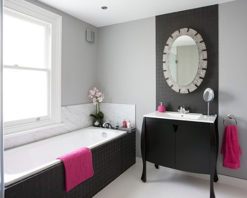 Small bathroom color schemes houzz for Bathroom designs colour schemes