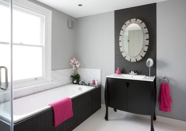Transitional Bathroom by Armstrong Keyworth