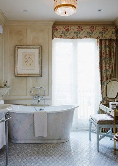 Traditional Bathroom by Violet & George