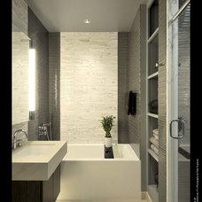 Modern Bathroom by Carol Kurth Architecture + Interiors
