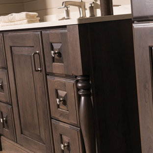 Cherished Traditional Cherry Bathroom Collection: Furniture Vanity