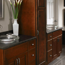 Traditional Bathroom by CliqStudios Cabinets