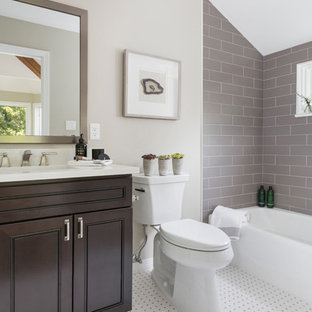 75 Beautiful Transitional Kids Bathroom Pictures Ideas May 2021 Houzz