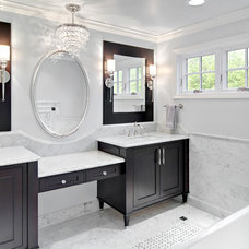 Contemporary Bathroom by Steven Cabinets