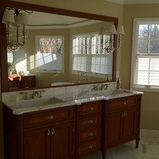 Traditional Bathroom by Mitchells Woodworking & Design LLC
