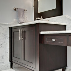 Traditional Bathroom by Steven Cabinets