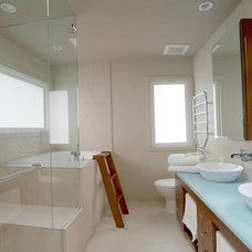Contemporary Bathroom by SOMA Millwork & Design