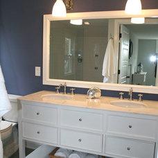 Traditional Bathroom by Charleene's Houses, LLC