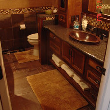 Traditional Bathroom by Cheryl Shinabarger